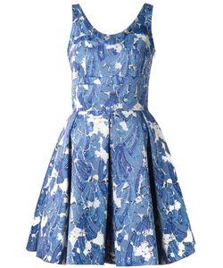 JONATHAN COHEN | Плиссированное Платье В Принт