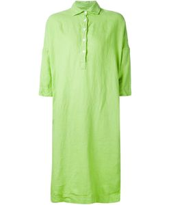 CASEY CASEY | Lime Linen Loose Fit Shirt Dress From