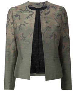 Lucien Pellat-Finet | Camouflage Cotton Fitted Jacket From