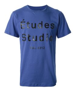 ETUDES | Cotton Logo Print T-Shirt From