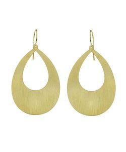 IRENE NEUWIRTH | 18kt Flat Pear Shape Earrings
