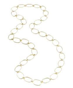 IRENE NEUWIRTH | Extra Large Link From Featuring A Curb Chain Link And Measures 34