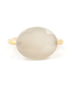 MARIE HELENE DE TAILLAC | 22kt Moonstone Ring From Featuring An Internal Logo Stamp