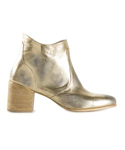 ESQUIVEL | -Tone Leather Side Zip Ankle Boots From