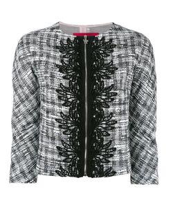 Moncler Gamme Rouge | Jacquard Trim Cropped Jacket I