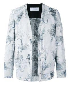 Chalayan | Collarless Open Blazer 46 Polyester/Acetate/Viscose/Cotton