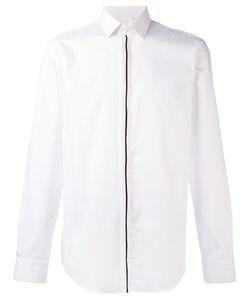 Hugo | Рубашка С Контрастной Полоской На Планке