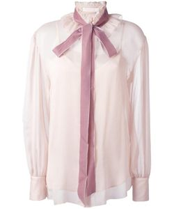 See By Chloe | See By Chloé Velvet Collar Blouse 34 Polyester/Polyamide