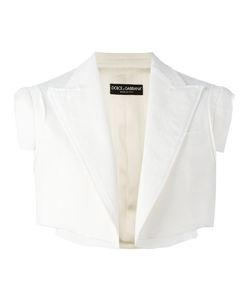 Dolce & Gabbana | Cropped Sleeveless Jacket