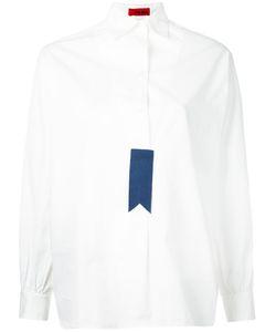 The GIGI | Tag Placket Blouse Size 44