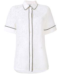 Essentiel Antwerp | Кружевная Рубашка С Контрастной Окантовкой