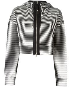 Diesel Black Gold | Striped Zipped Cardigan Xs Cotton/Spandex/Elastane/Polyamide