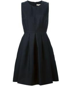 Burberry London   Плиссированное Платье Без Рукавов