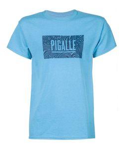 PIGALLE | Футболка С Волнистым Принтом-Логотипом
