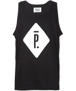 PIGALLE | Cotton Logo Print Tank Top From