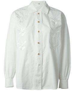 ESCADA VINTAGE | Рубашка С Вышивкой