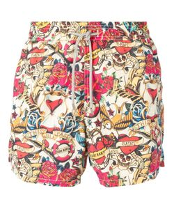 MC2 | Multicoloured Gustavia Printed Swim Shorts From