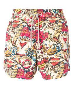 MC2 | Multicoloured Gustavia Printed Swim Shorts From