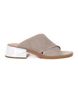 MM6 by Maison Margiela   Mm6 Maison Margiela Crisscross Strap Sandals