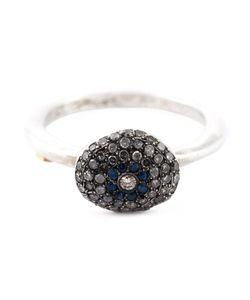 ROSA MARIA | Diamonds And Sapphire Embellished Ring From