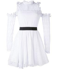 Manoush | Платье С Кружевными Панелями И Вырезами На Плечах