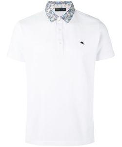 Etro | Contrast Collar Polo Shirt