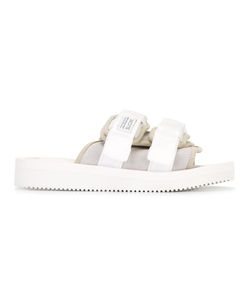 Suicoke | Double Strap Slider Sandals 4 Suede/Nylon/Leather/Rubber