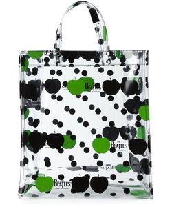THE BEATLES X COMME DES GARCONS | And Apple And Polka Dot Tote From