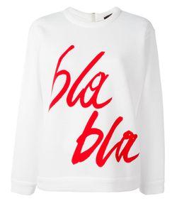 Odeeh | Bla Bla Print Sweatshirt Size 34
