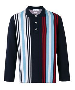 Sunnei | Striped Polo Shirt Size Medium