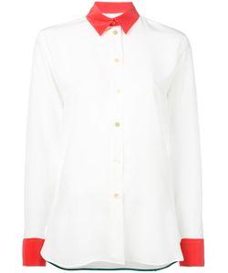 Paul Smith   Contrast Trim Shirt Size 44