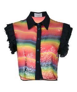 Daizy Shely | Укороченная Рубашка С Пайетками