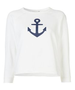 Sea | Anchor Sweatshirt Small Cotton