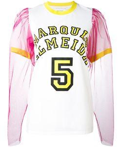 Marques Almeida | Marquesalmeida Tulle Sleeve T-Shirt Xs