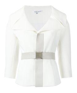 GLORIA COELHO | Neoprene Jacket 42 Polyester/Spandex/Elastane