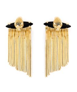 IOSSELLIANI | Hole Sun Cheetah Earrings