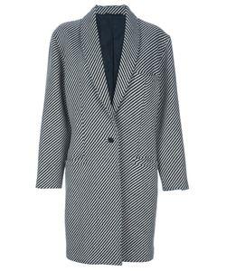 Versace | Полосатое Пальто