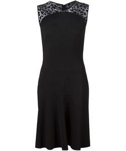 Stella Mccartney | Платье С Прозрачной Панелью