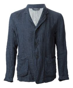 CASEY CASEY   Light Weight Linen Jacket With Three Button Fastening And Two Outer Pockets