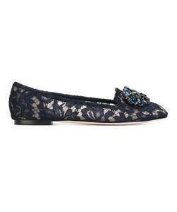 Dolce & Gabbana | Кружевные Слиперы Vally