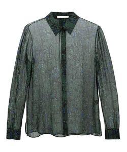 Jason Wu | Прозрачная Рубашка С Принтом
