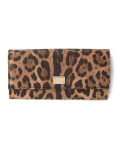 Dolce & Gabbana | Кошелек В Леопардовый Принт