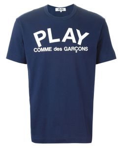 Comme Des Garcons | Футболка С Принтом Play