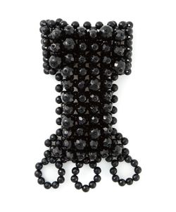 JOZICA | Wrist And Finger Beaded Cuff