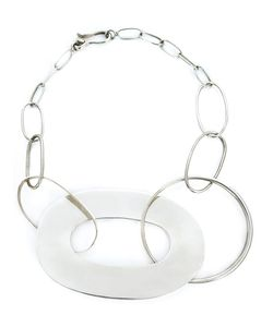 TAHER CHEMIRIK | Interlocking Hoop Necklace