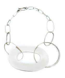 TAHER CHEMIRIK   Interlocking Hoop Necklace