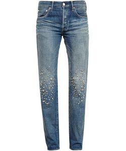 TU ES MON TRESOR | Stardust Embellished Jeans