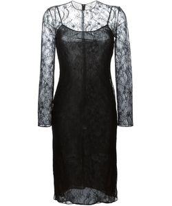 Givenchy | Облегающее Кружевное Платье