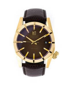MARCH LA.B | And Tone Calf Leather And Stainless Steel Am59 Watch From March La