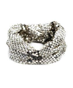 MICHAEL SCHMIDT | Crystal And Mesh Bracelet